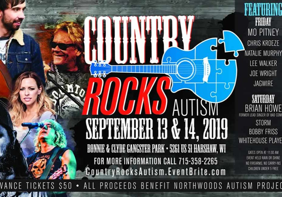 COUNTRY ROCKS AUTISM AA